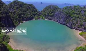 Khám phá đảo Mắt Rồng - con mắt huyền bí trên vịnh Hạ Long