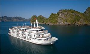 Bảng giá du thuyền ngủ đêm trên Vịnh Hạ Long từ 3-5 sao
