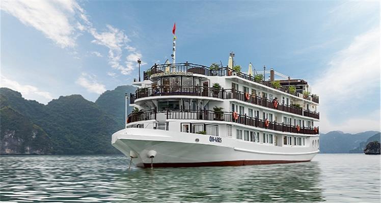 Danh sách du thuyền Hạ Long đang khuyến mại