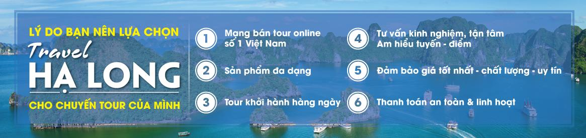 Lý do chọn TravelHalong
