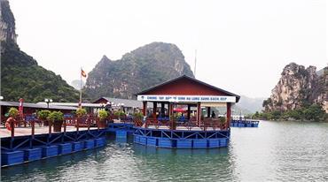 Công nhận điểm du lịch Đại Yên Plaza, vụng Cặp Táo, Hạ Long