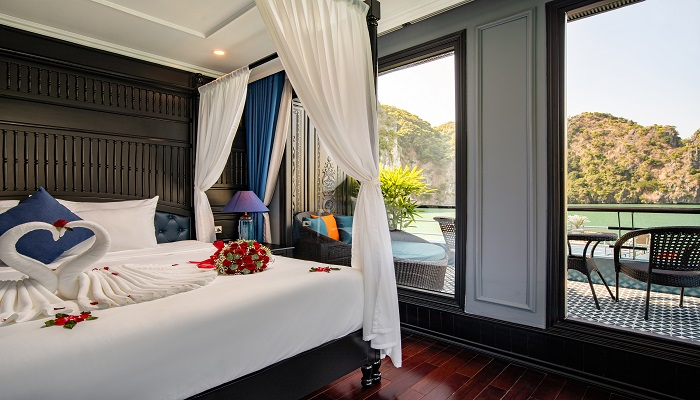 Phòng Rosy Terrace Suite