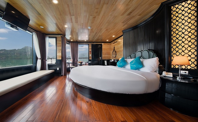 Phòng Serenity Moon Suite Ban Công